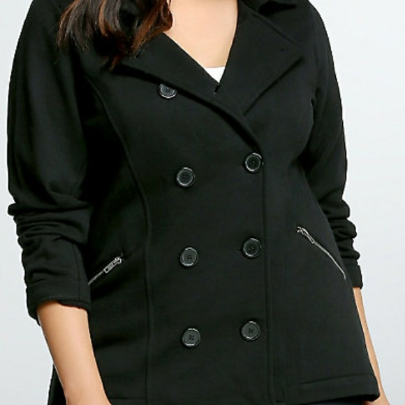 91971f11360 Double breasted pea coat